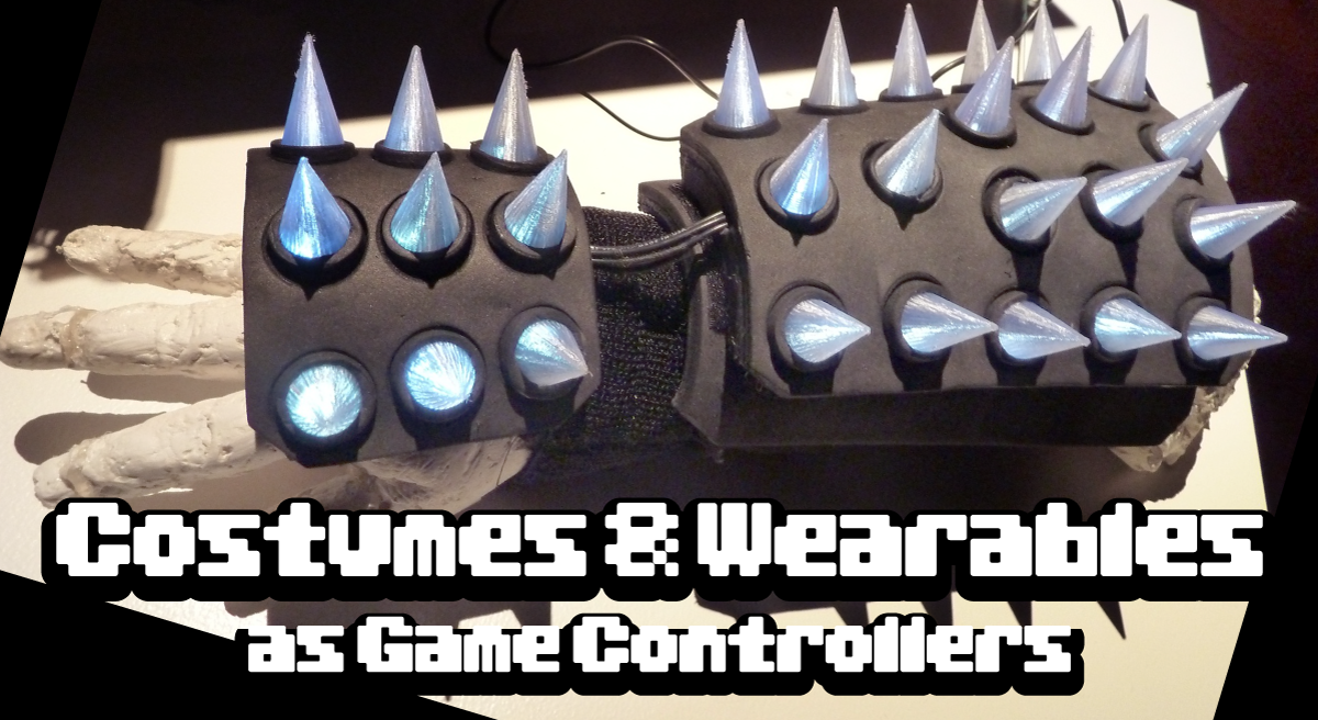 Costumes and Wearables as Game Controllers